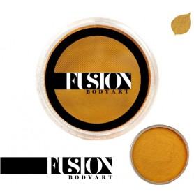 Maquillaje artístico oro metálico Fusion