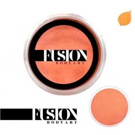 Maquillage artistique Fusion orange métallisé