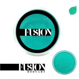 Maquillaje artístico verde metálico Fusion