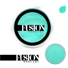 Maquillaje artístico turquesa metálico Fusion