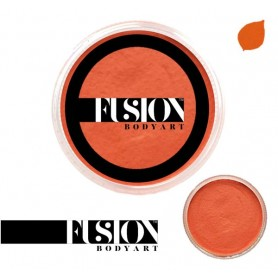 Maquillage artistique Fusion orange
