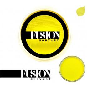 Maquillage artistique Fusion jaune