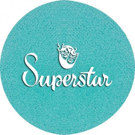 Maquillage artistique Superstar vert Star métallisé