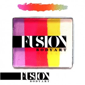 Maquillaje artístico Fusion Caribbean Sunset