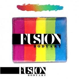 Maquillage multicolore Fusion Rainbow Joy