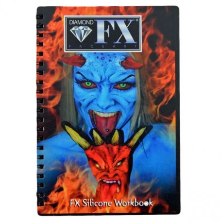 Livre de maquillage FX Silicone Workbook Diamond FX
