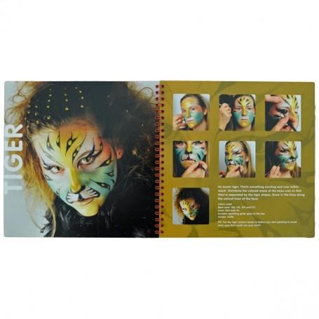 Livre de maquillage pour enfants Endless Face Painting +