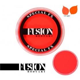 Couleur orange néon Fusion