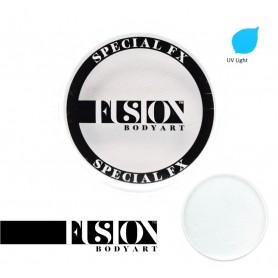 Maquillaje artístico blanco metálico Fusion