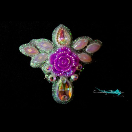 "Happy Bling ""Fairy flower rose"""