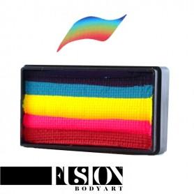 Maquillaje artístico Fusion Rainbow