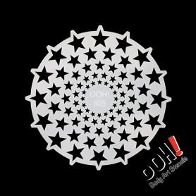 Pochoir Stars Sphere Ooh ! Stencils