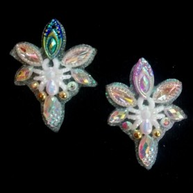 "Lot de 2 Happy Bling ""Chic Spider"""