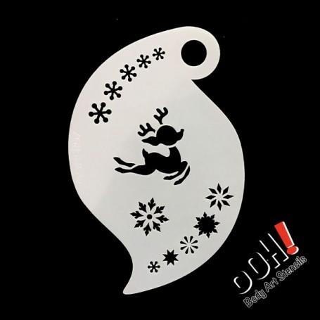 Pochoir Baby Reindeer Storm Ooh ! Stencils