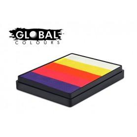 Rainbow cakes Global Colours Carribean