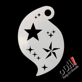 Pochoir Star Storm Ooh ! Stencils