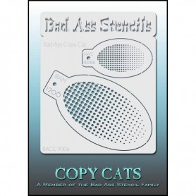 Pochoirs Bad Ass Copy Cat points