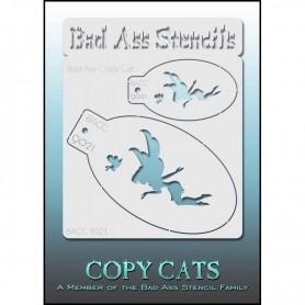 Pochoirs Bad Ass Copy Cat Fée