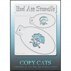Pochoirs Bad Ass Copy Cat Pirate