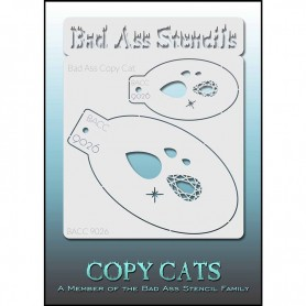 Pochoirs Bad Ass Copy Cat Diamant