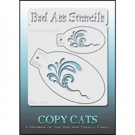 Pochoirs Bad Ass Copy Cat Vague
