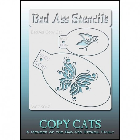 Stencils Bad Ass Copy Cat 9047
